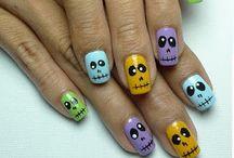 Halloween nails / by Marie Velez