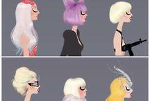 The Queen: Gaga  / by Demetria Sosa