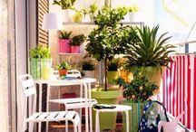 Balcony / by Mademoiselle Marie