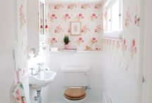 Bathrooms / by Bee @ Hellobee