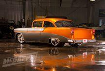 Old School Chevy's. 50's & 60's era / by Garet Denney