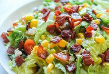 salads / by Harika Duggimpudi