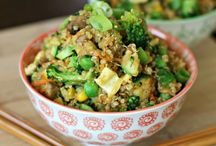 Recipes - Grains, Side Dishes / by Kellie Tatham