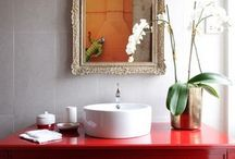 Bathroom Cabinets & Vanities / by Marcela De Vivo