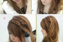 hair styles / by Cari Ard