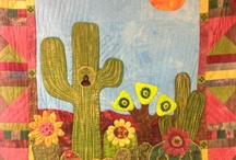 southwest quilting / quilting with southwest flavor / by Diane Eden