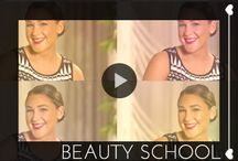 #BeautySchool / Top makeup artists and beauty blogger show you how to master the hottest makeup and hair trends. / by Glam