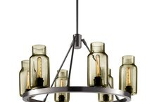 Niche Modern Sola 24 Modern Chandelier / The SOLA CHANDELIER can easily be customized to suit your project. Each chandelier and glass fixture is hand-crafted in the United States.  / by Niche Modern