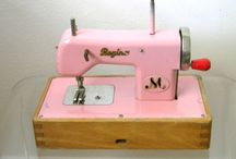 antique toy sewing machines / by Callie Varellas-Triarsi