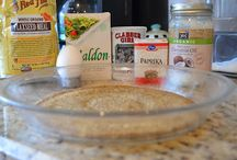 Gluten/Wheat Free recipes.  / by Janelle Wilchowy
