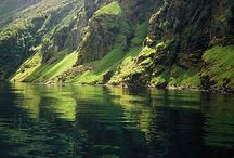 fjords of norway / by njord sea kayak adventures