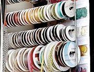 craft storage ideas... / by Germaine Lenn