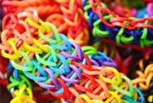 rainbow loom / by Cheryl Bartlett