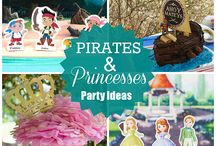 Pirate and Princess Summer / It's Disney Junior's Pirate and Princess Summer with all new Jake and the Never Land Pirates and Sofia the First episodes! / by Disney Junior