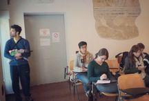 In aula / by Master in Comunicazione delle Scienze Università di Padova