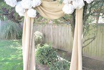 Backyard wedding / by Nicole Converse-Olson
