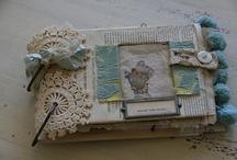 Notebook/journal/book cover - crochet, knit, etc / by Alma Hernandez de Rojas