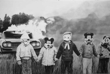 Vintage Creepy / I adore old photos but if you look at these photos long enough, the images may just show up in your nightmares... / by Lori Lochbaum