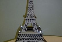 Eiffel Tower cakes / by Jenniffer White