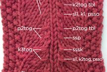 Knitting  How to's / by Mary Siroky