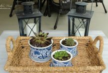 Ideas for the back porch / by Lori Hawk Toler