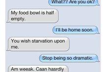 Mittens The Texting Cat  / Warped Kitty Humor / by Lori Cirilli Jaslowski