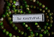 being grateful / by kim saccoccie