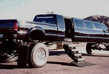 Big trucks / Lifted Trucks / by Mike Andrew