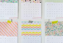 Calendars / by BrandingNest