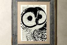 Owls / by Solène Raidron