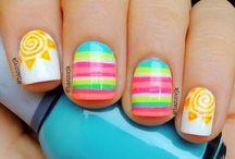 Summer nail art / Nail art / by Amy Blair