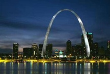 ♥Saint Louis Arch♥ / This is my favorite landmark. So simple, yet a beautifully constructed example of architecture. / by Catrina Waters