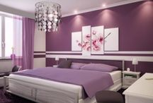 Purple Bedroom Ideas / by Home Decor & Design Blog