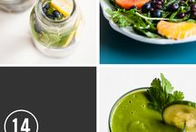 FOOD + DRINK : Detox Ideas + Guides / by Hello Natural