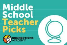 Middle School Teacher Picks / Check out some of our teachers' favorite resources, just for middle school students!  / by Connections Academy