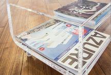 Tavolino in plexiglass portariviste / Tavolino portariviste in plexiglass.Moderno, elegante e con tanto spazio per riporre le vostre cose. Questo e' il tavolino in plexiglass portariviste #designtrasparente  Ideale per arredare con stile e funzionalita' i vostri spazi. #plexiglass #tavolino #design #roma #verona / by Designtrasparente online shop