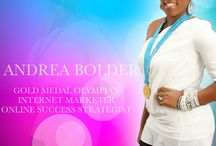 Follow Andrea Bolder Online / Come Hang Out with Andrea Bolder On Your Favorite Social Site or at AndreaBolder.Com / by Andrea Bolder | Creating 6 Figure Success Online