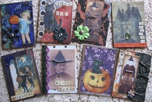 Art - Fabric Post Cards & ATC / by Rinnie Hunt Henry
