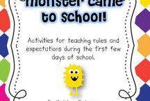 Classroom Clues/Beginning of the Year / Great ideas for the classroom for the first day of school! / by Heather Hollifield