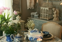 China ,Crystal and Tablescapes / by Diana Lincoln Kupferer