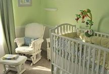 Nursery Pinspirations / Pinspiration for a Pond/Marshland Themed Nursery with a Green, Yellow, White and accent of blue color scheme. / by Pamela Monahan