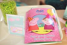 Peppa Pig / All things Peppa Pig that we love. Especially Peppa Pig Birthday Books and other personalised Peppa Pig books from penwizard / by Penwizard