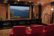 home theater ideas / by Amy Sides