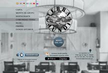 Diseño Web. Restaurante Terramundi / Diseño Web Restaurante Terramundi. Restaurante ubicado en el barrio de Huertas (Madrid) / by AB positivo 3D