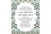 Geometric Wedding Invites / by The American Wedding