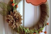 Baby Girls wreaths ideas / by Pam Webster