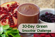 Green Smoothie Recipes / I need more vegetables!  / by Maggie Page