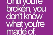 I was brokenღ / meditate on positive..I was bullied and broken heartedღ / by goddessღ