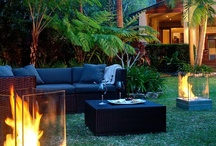 outdoor spaces and decor / by Cathy Best