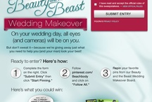 Beauty and the Beast Wedding Makeover / Pin it to Win it! Repin your favorite pins from our Beauty and the Beast Wedding Makeover to your wedding inspiration boards for a chance to win a Derm Exclusive Advanced skincare kit, Fill and Freeze Wrinkle Treatment Pens for your bridesmaids, and a Body Beast workout program for the groom!  Enter here: https://www.facebook.com/dermexclusive/app_120860451431022 / by Beachbody